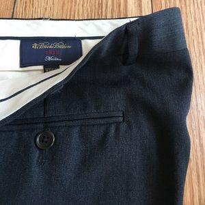 Brooks Brothers 1818 Madison Fit Wool Dress Pants